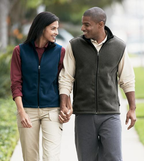 Mens & Ladies Fleece Vests