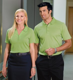 Men's & Ladies Silk Touch Polos